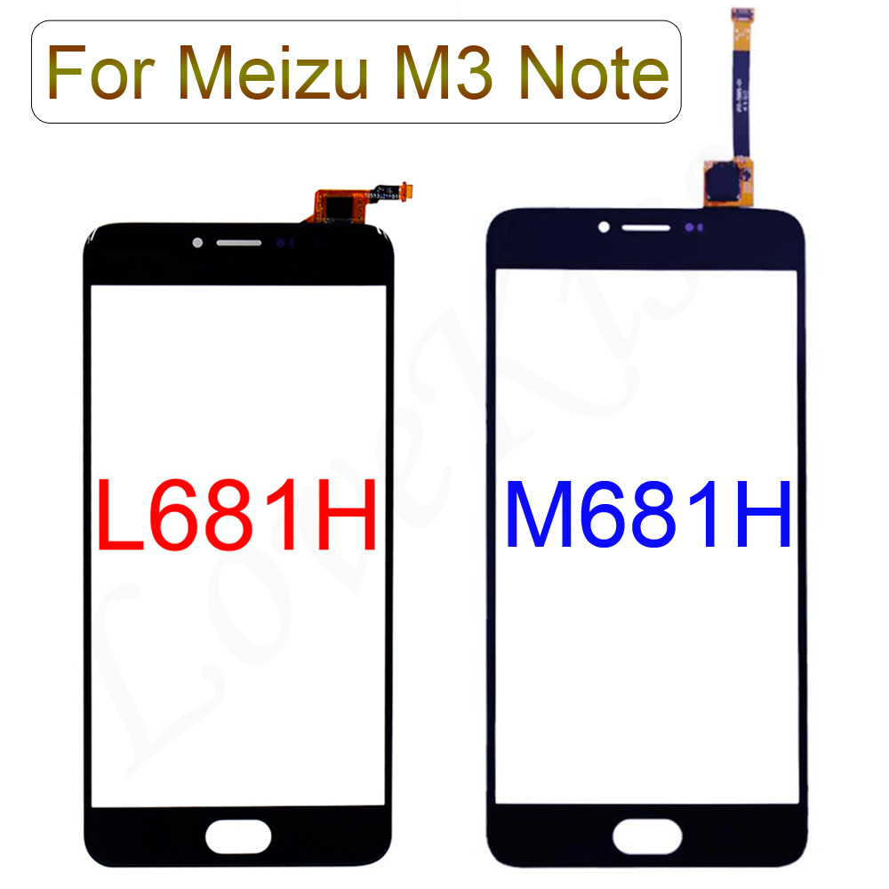 Touchscreen Front Panel For Meizu M3 Note M681H L681H L681 M681 Touch Screen Sensor Digitizer LCD Display Glass Replacement ToolTouchscreen Front Panel For Meizu M3 Note M681H L681H L681 M681 Touch Screen Sensor Digitizer LCD Display Glass Replacement Tool