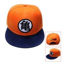 VORON 2017 3 Estilo alta calidad Dragon ball Z Goku Snapback sombrero plano  Hip Hop casquillo de béisbol Casual para hombres Muj. fef6364dc9b