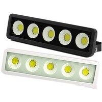1pcs 옥외 방수 LED 홍수 빛 50W 100W 150W 200W COB 베란다 정원 조경 거리 LED 스포트라이트 투광 램프 스포트라이트