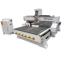 China Low Cost 3 Axis PCB Cnc Milling Machine With Gantry Type For Aluminum/Wood Chair Cutting Machine Mach3 CNC
