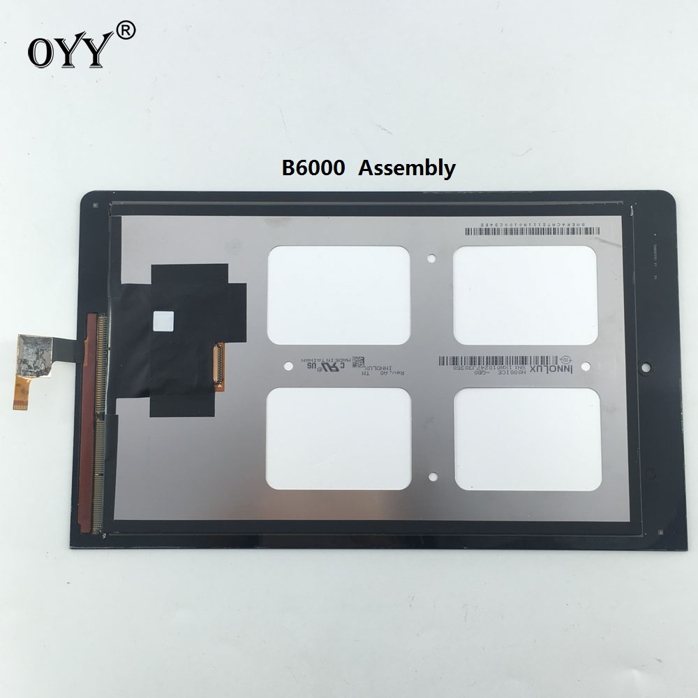 used LCD Display Panel Screen Monitor Touch Screen Digitizer Glass Assembly Replacement parts 8 For Lenovo IdeaTab Yoga 8 B6000 original 3 5 inch lcd screen display panel for toppoly td035sted3 lcd display panel touch digitizer glass tft replacement parts