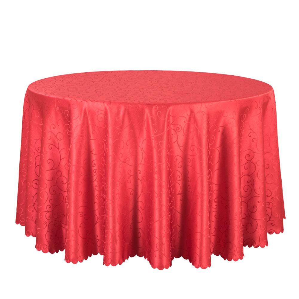 Set De Table Rouge Rond
