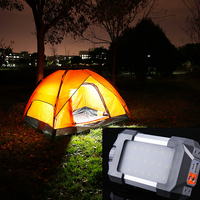 LED Camping Tent Light Outdoor Rechargeable Portable Lantern led Lamp Flashlight with USB interface Multifunction Night Light