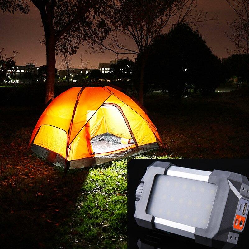 Waterproof USB LED Outdoor Camping Tent Light Lantern Hiking Fishing Lamp Torch