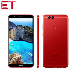 Brand New Honor 7X Cellphone 4G LTE Mobile Phone 4GB RAM 128GB ROM HiSilicon Kirin 659 Octa Core Android 7.0 Full Screen 5.93