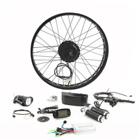 LOVAGE Fat BIKE 48V 500W Motor Wheel Bike Kit 26 Inch Rear Wheel Motor Brushless Gear Hub Electric Bicycle Conversion Kit