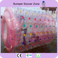 Free Shipping Hot Sale 0.8mm PVC Water Walking Rollering Ball Inflatable Water Roller Ball Water Toy For Sale