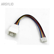 4pin fan Adapter cable, Convert extension cords, VGA card mirco 4pin to mini 4pin fan, 11cm, Support temperature adjustment