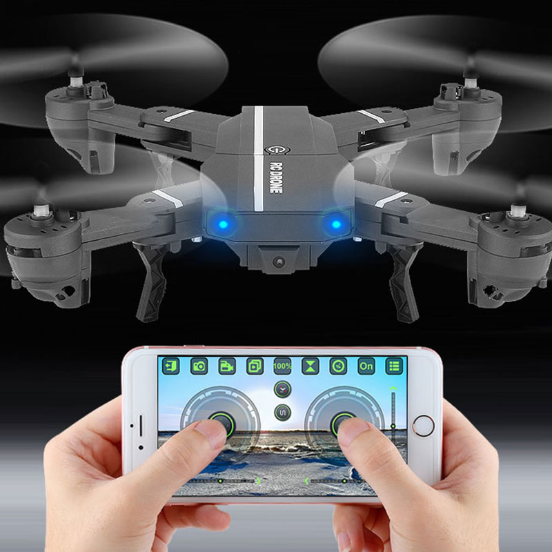 WIFI Live Transmission Quadcopter Drone 200W Pixel Support Roling EDC Outdoor