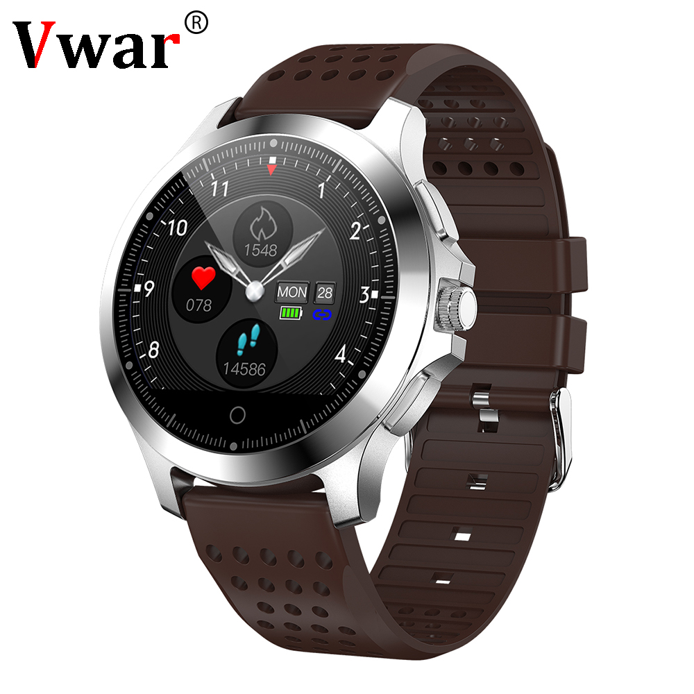 Vwar N66 PPG ECG Smart Watch Blood Pressure Heart Rate Monitor Men Smartwatch Sport Watch Activit fitness tracker BraceletVwar N66 PPG ECG Smart Watch Blood Pressure Heart Rate Monitor Men Smartwatch Sport Watch Activit fitness tracker Bracelet