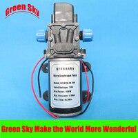 8L/Min 100 W auto wassen, medische, chemische apparatuur, gazon en tuin irrigatie gebruik hoge druk membraanpomp 24 v dc