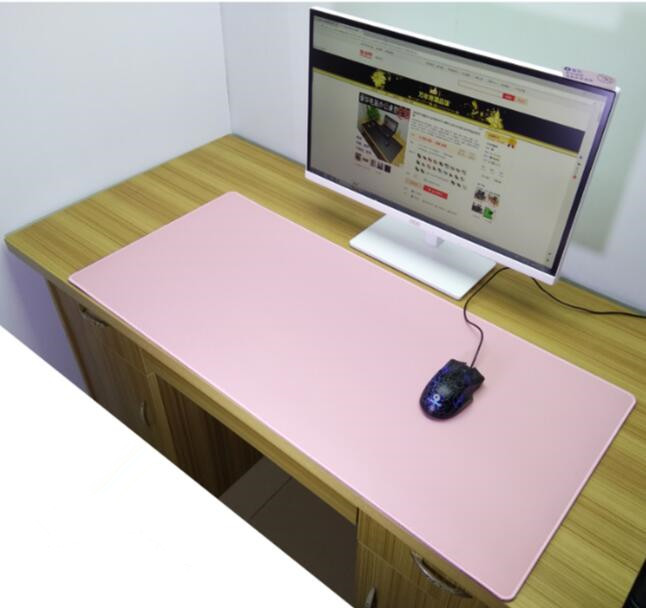 90*50CM High Quality Leather Business Office Desk Mat Computer Desk Pad Skidproof Mouse Mat