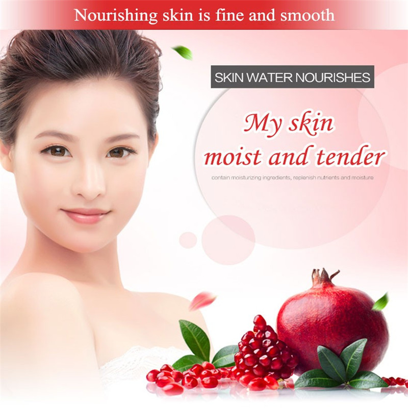 Emulsion Skin Care Images Red Pomegranate Whitening Moisturizing Essence Lotion Plant Protect Deep Wet Refresh White Mild Skin Care Gel