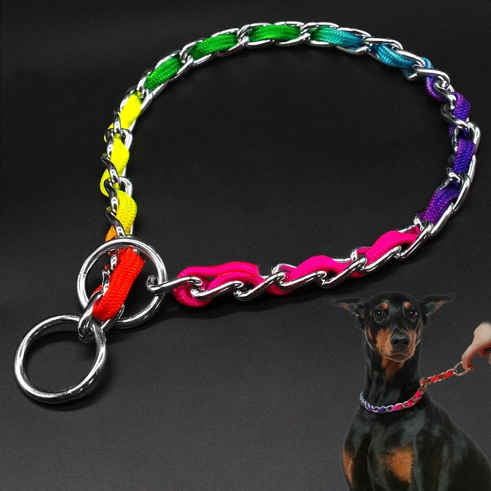 Metal Choke Collars Dogs