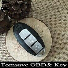 Бесплатная Доставка 3 Кнопки Автомобиль БРЕЛОК Автозапуск Дистанционный Ключ 315 МГц ID46 Чип Для Nissan Altima Максима Антенны До 2008 год