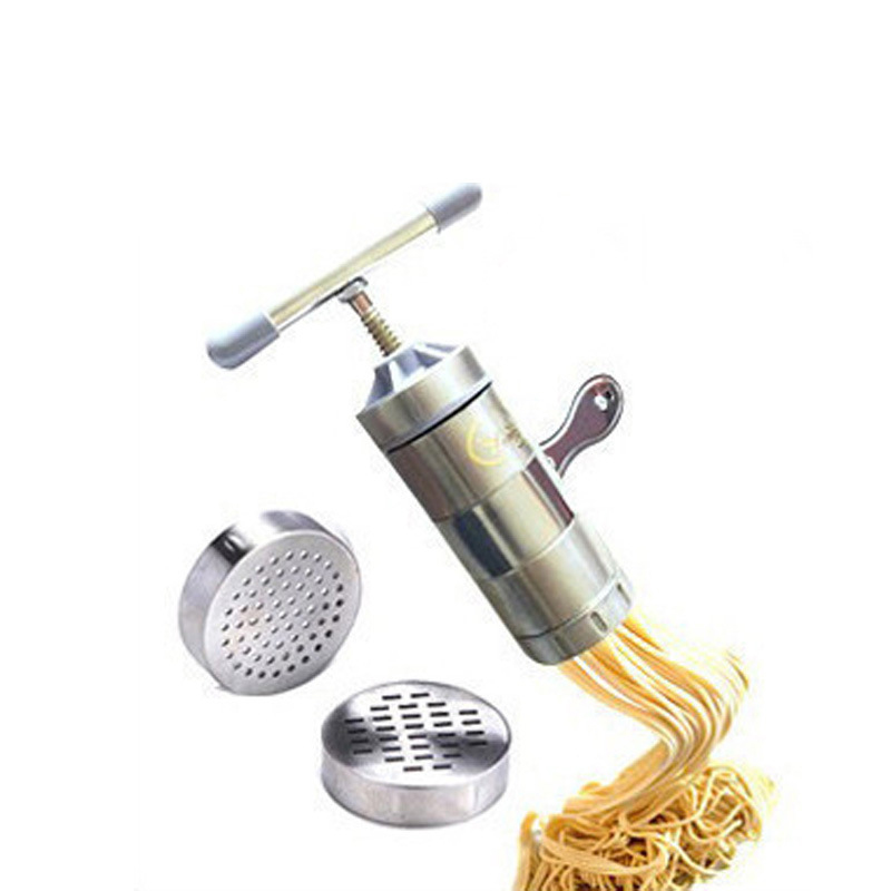 Stainless Steel Noodle Tools With 2 Models Manual Noodles Fruit Juicer Pasta...