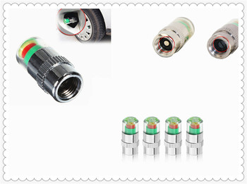 Auto parts 4PCS tire pressure monitoring alarm 2.4bar sensor bonnet for BMW E46 E39 E38 E90 E60 E36 F30 F30 image