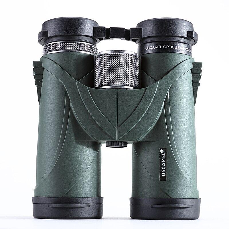 USCAMEL 8x42 Binocolo Telescopio Professionale HD Militare Ad Alta Potenza Caccia All'aperto, Verde