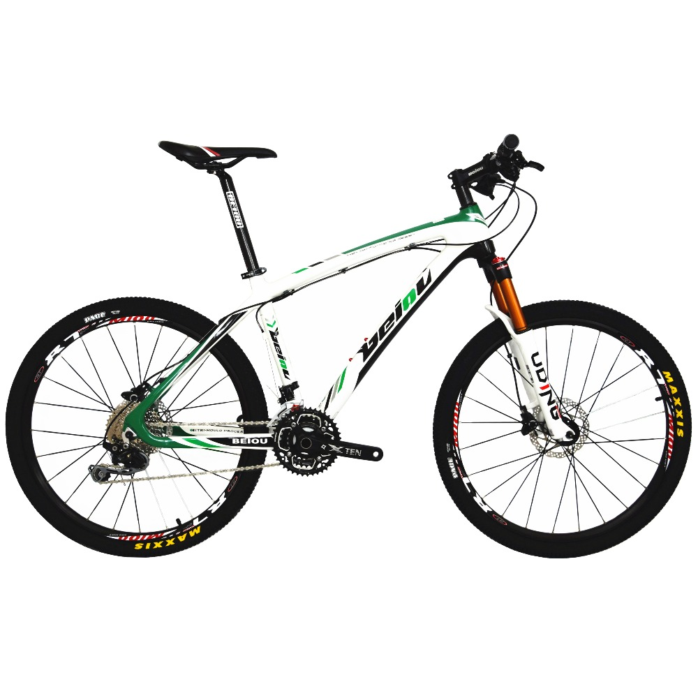 Beiou Carbon 26 Inch Mountain Bike Hardtail Trail Bicycle 30 Speed