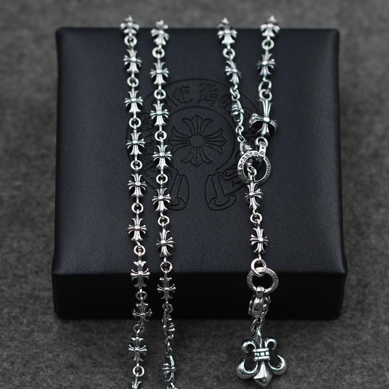 Якорь моды кулон крест набор цепи свитер цепи оптовая продажа S925 стерлингового серебра Ретро тайский серебряный мужской и женский