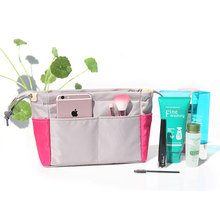 Organizer Insert Bag Women Nylon Travel Handbag Purse Large Liner Lady Makeup Cosmetic Cheap Female Tote