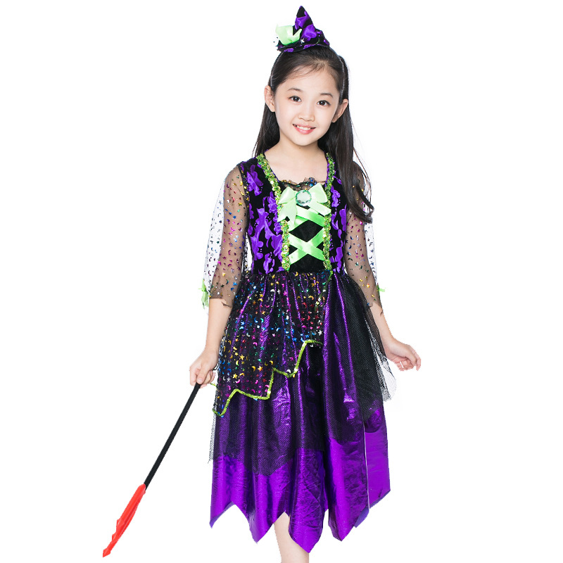 Childrenu0027s Halloween Costume Princess Witch Cosplay Costume Stage Masquerade Witch Costume-in Girls Costumes from Novelty u0026 Special Use on Aliexpress.com ...  sc 1 st  AliExpress.com & Childrenu0027s Halloween Costume Princess Witch Cosplay Costume Stage ...