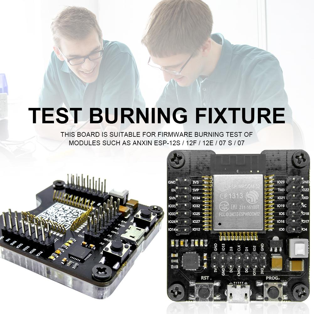 Rondaful ESP WROOM 32 Development Board Module Kit Test Burning Fixture