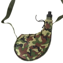 750ml Outdoor Sports Camping Camouflage Water Bottle Canteen Tramping Fishing Tools