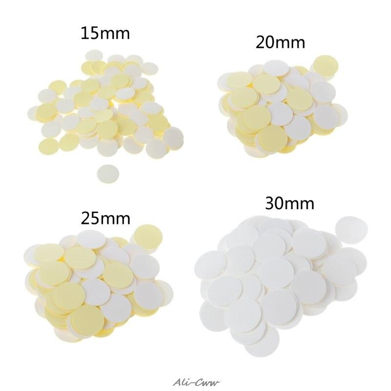 100 шт. прозрачные невидимые круглые двусторонние силиконовые самоклеящиеся фотоклеящиеся точки