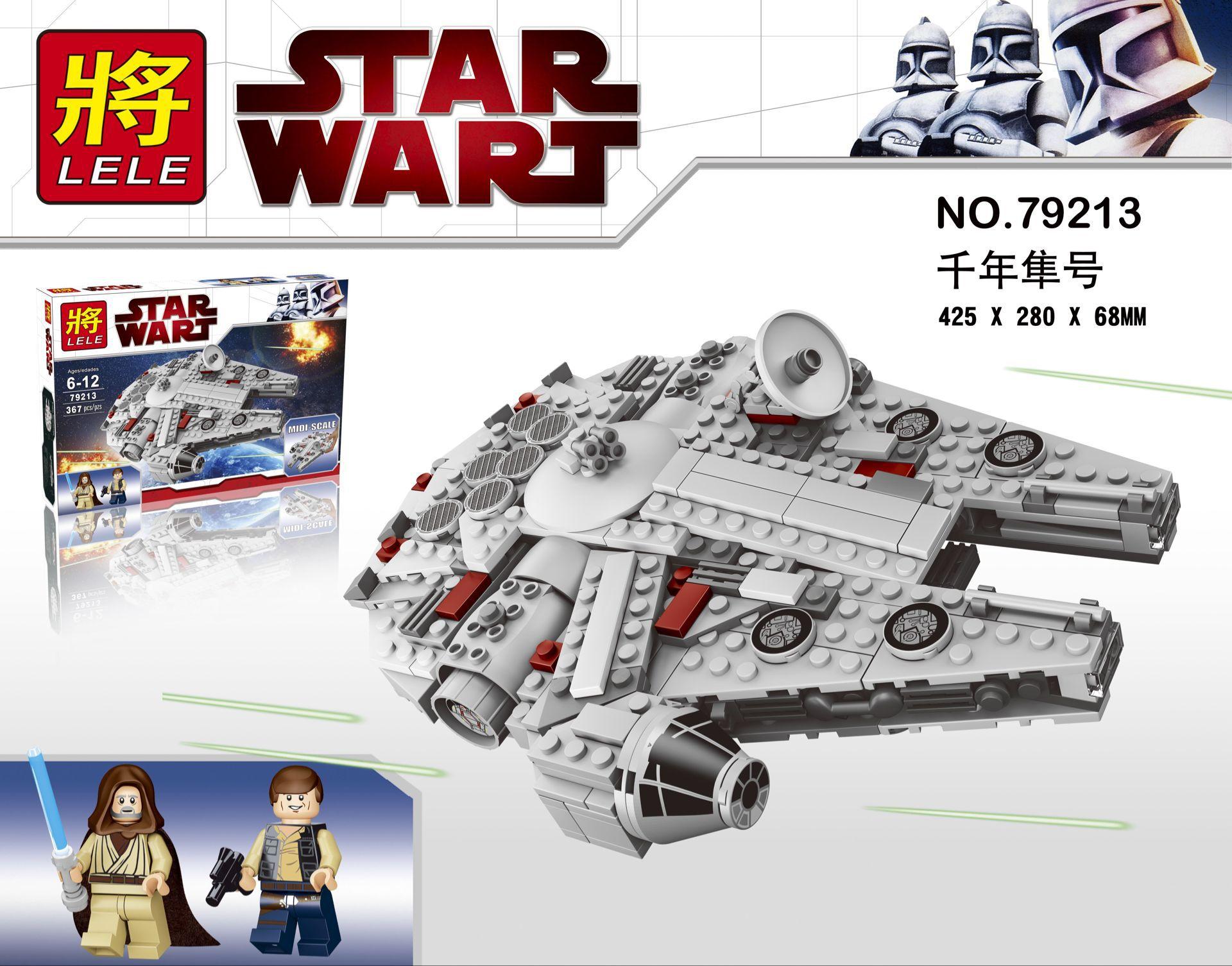 36 Star Wars First Order Millennium Falcon Fighter building blocks DIY Toys minifigures Model Bricks Best Gift