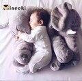 60cm INS Elephant Soft Pillows Baby Sleeping Pillow Stuffed Elephant Comforter Plush Animal Cushion Best Gift For Kids