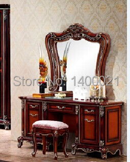 dressing table with storage cabinet new design classical dressing table home furniture wood dressing table