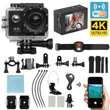 Full HD экшн-Камера спортивная видеокамера Ultra HD 4K WiFi Пульт дистанционного управления спортивная видеокамера DVR DV Go Водонепроницаемая профессиональная камера