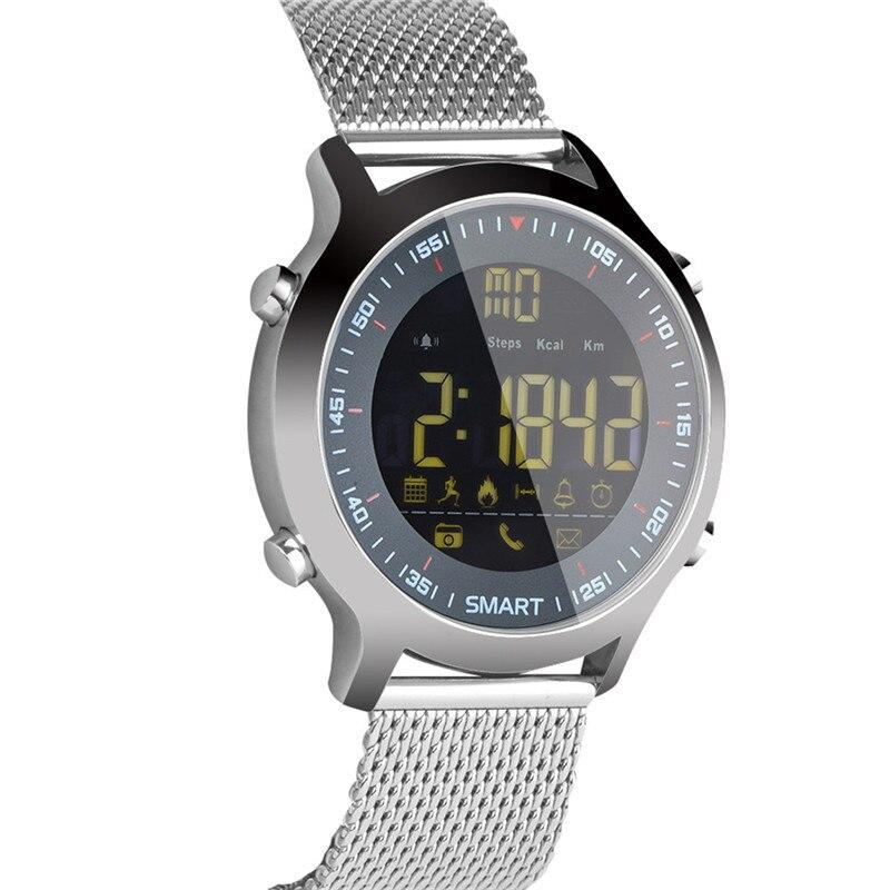 EX18 Smart Watch Professional Diving Sports Smartwatch Bluetooth Phone Message Push Wristwatch 5ATM IP67 Waterproof SmartWatches makibes ex18 smart watch silver