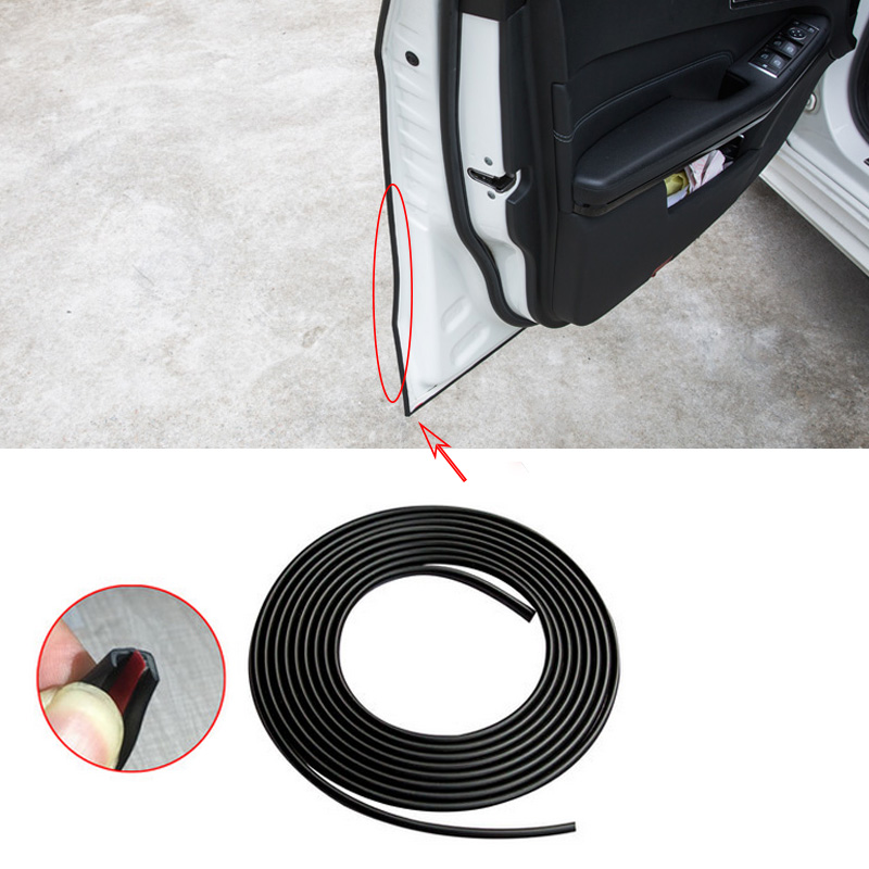 4m/8m Universal Car Door Edge Guards Trim Molding Protection Strip Scratch Protector For Toyota Camry Prado Corolla Prius RAV4