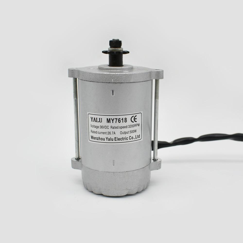 DIY Electric BikeAdult skládací elektrický skútr baterie zpětný kartáčovaný stejnosměrný motor MY7618 600W36V