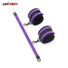 Smspade SM Bondage Sex Toys for Couples Ankle Cuffs with Spreader Bar Slave Ankle Cuffs Fetish Restraints Shackles Adult Games