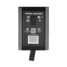 1pcs 120GB Hard Drive Disk for XBOX for 360 120G Slim Internal Hard Drive Black Free / Drop Shipping