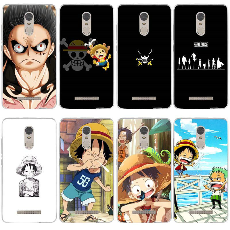 Soft Phone Case for Xiaomi Redmi Mi Note 2 3 3S 4X 4A 6 5 5S 5A 6 8 A1 Pro Plus Japanese Anime Collage One Piece