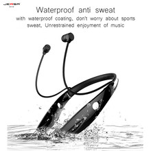 H1 Waterproof Wi-fi Earphone Bluetooth Headphones four.zero Common Arms Free Cordless Headset Ear Microphone