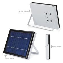 New Solar Mobile Lighting System Photovoltaic Power Generation Camping Tent Eemergency Charging Mobile Phone + 2LED Bulbs