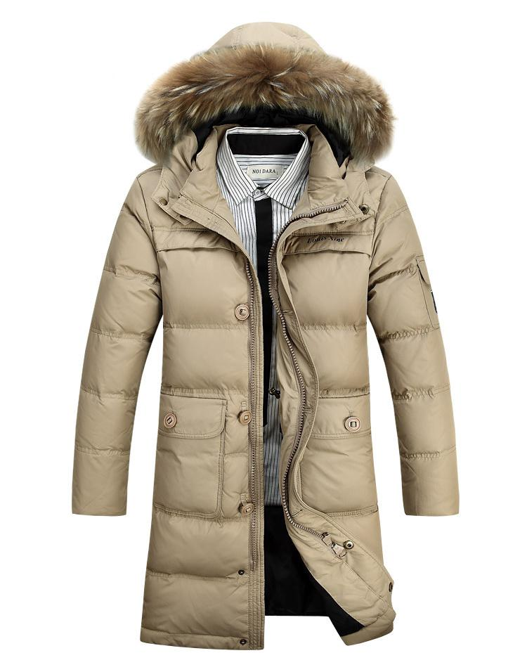 Popular Mens Long Winter Coats Hood-Buy Cheap Mens Long Winter ...