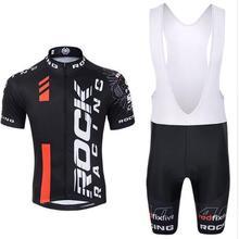 Pro Лето Рок Гонки Велоспорт Джерси набор горный велосипед одежда MTB велосипедная Одежда Майо Ropa Ciclismo мужские велосипедные наборы