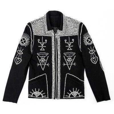 perlen mode aus kurz jackestudioASIEN GRÖßE Jacken eventbühne US128 AliExpress herren Herrenbekleidung 0Luxus in bei schwarz performance WDbIEH9Ye2