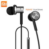 Original XiaoMi Mi IV 3 5mm Plug In Ear Wired Hybrid Earphones With Micro For Android