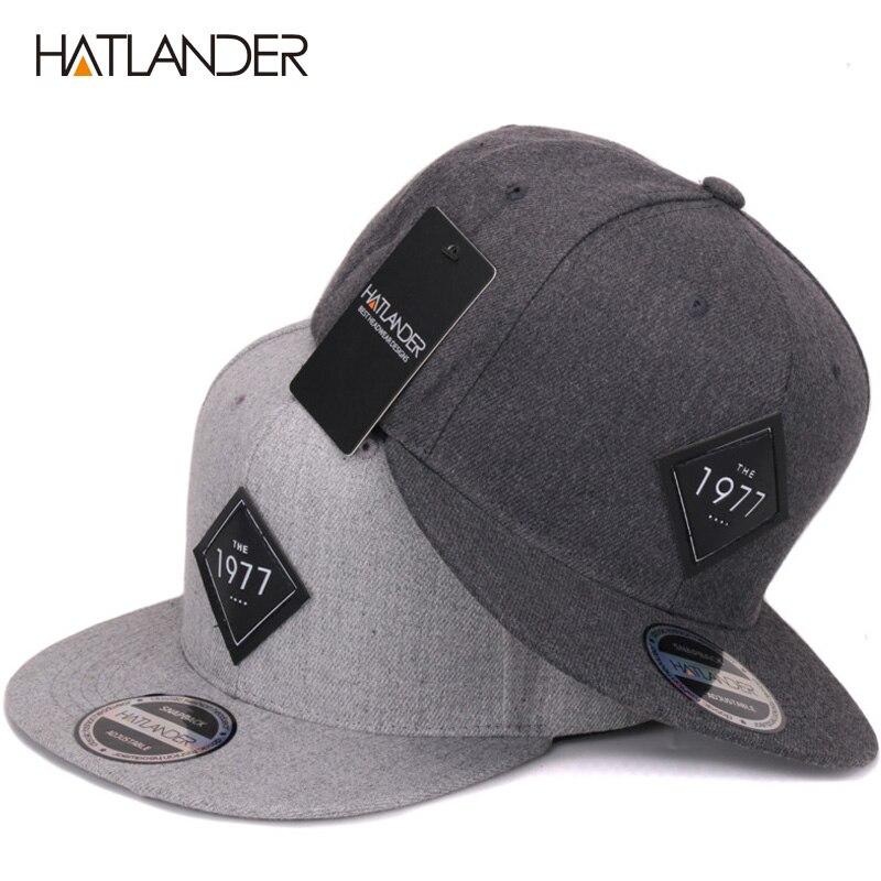 e2dd05be14a Hatlander vintage cool flat bill baseball cap women mens gorras jpg 800x800 Flat  baseball hat