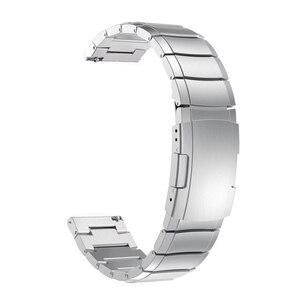 Image 4 - 20mm 22mm Metall Armband Für Huawei Uhr GT2 Armband Für Samsung Galaxy 46mm Getriebe S3 Handgelenk Band strap Amazfit 2 Schnell installieren