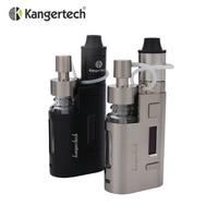 Originele Kanger Drip EZ Starter Kit 80 W Doos Mod Vape met pomp En Push RBA 0.3Ohm Drip coil 0.2Ohm Drip EZ Kit
