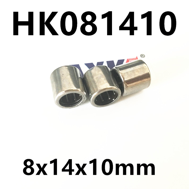 HK081410 7941/8 27942/8 Drawn Cup Type Needle Roller Bearing 8x14x10mm free shipping high quality 1pc hk303824 7942 30 drawn cup type needle roller bearing 30x38x24mm