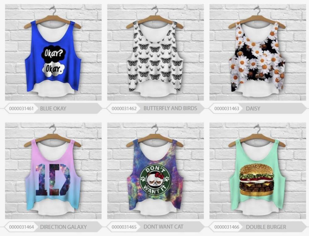HTB19WQHHpXXXXcaXXXXq6xXFXXXQ - multicolor T-Shirts 3D Print women tank tops girlfriend gift ideas